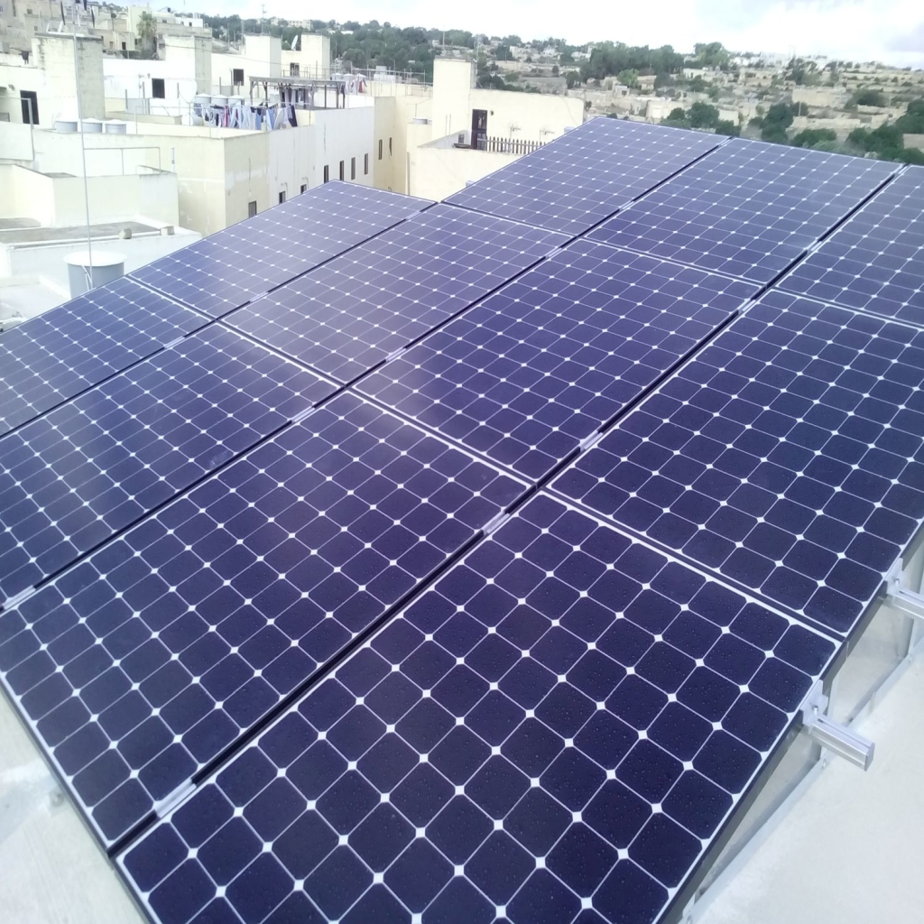 photo voltaic panels from renergy