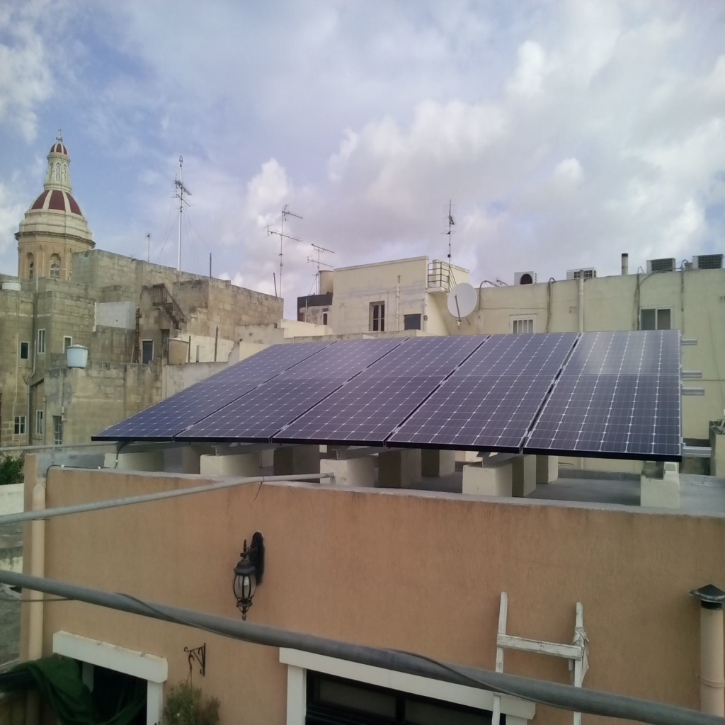 solar panels company in malta