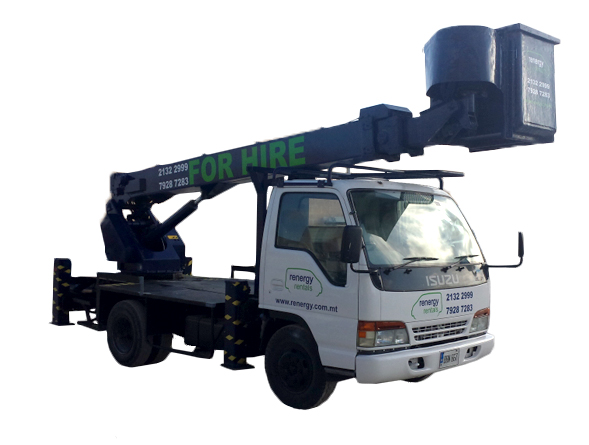 Cherry Picker Van