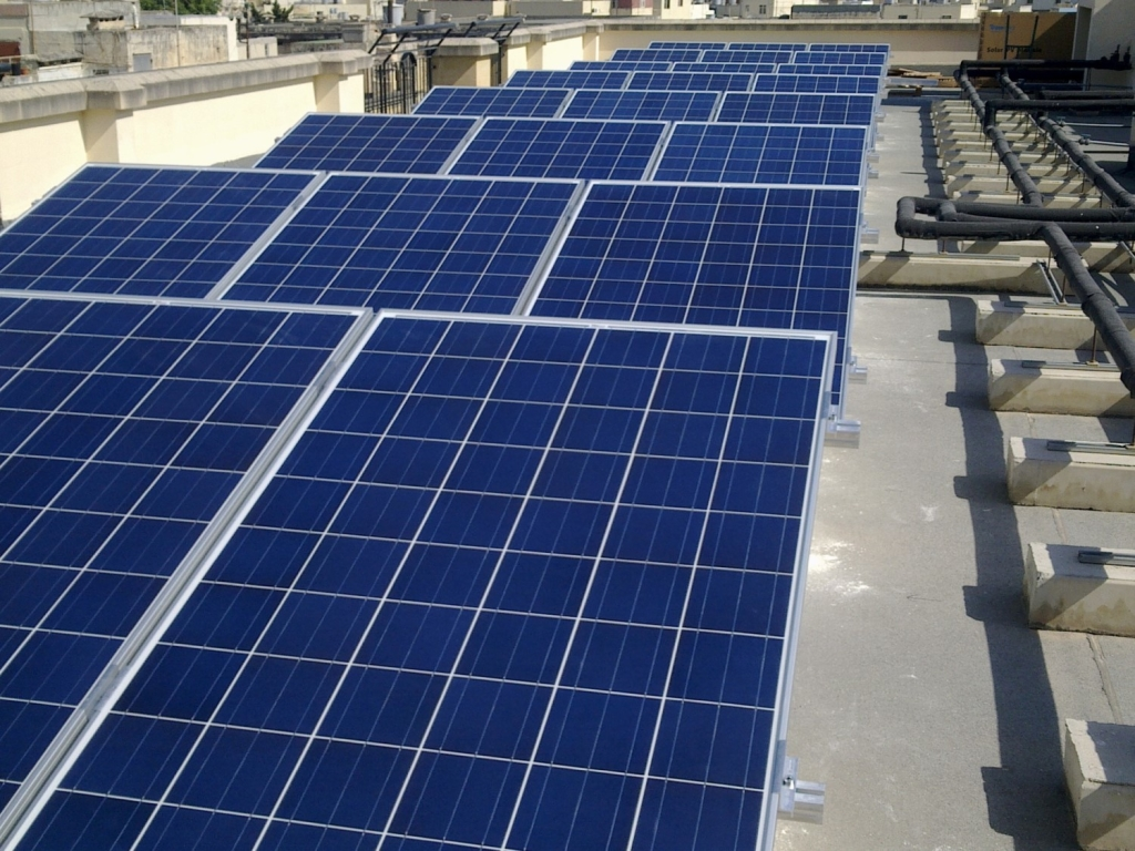 Projects Industrial Pv Panels Malta Renergy Limited