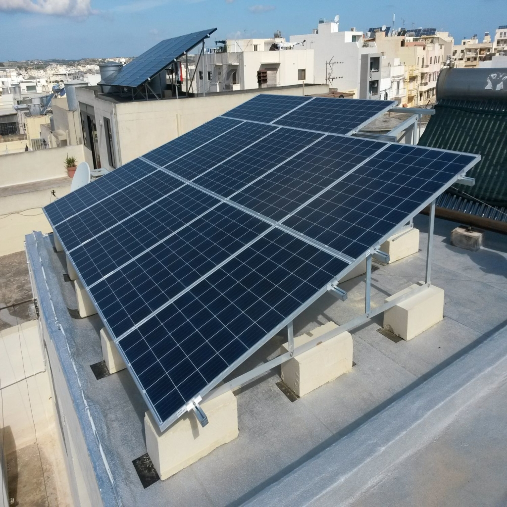 Projects Domestic Pv Panels Malta Renergy Limited